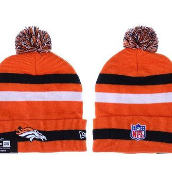 auguau Denver Broncos Beanies New Era NFL Football Cap