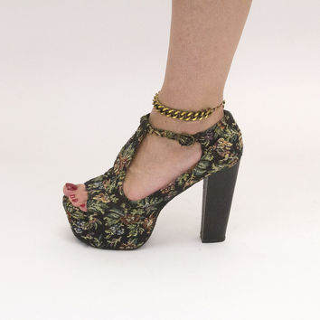 Bronze Ankle Chains