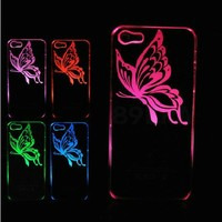 Luminous Butterflies LED Case for iPhone5