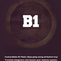 Festival Better B1 Patch | Rave Recovery and Hangover Preventative