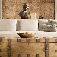 Belgian Roll Arm Slipcovered | Restoration Hardware