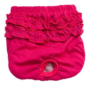 Happy New Cute Pet Dog Panty Brief Bitch In Season Sanitary Pants For Girl Female
