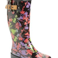 Women's Chooka 'Floral Shadows' Waterproof Rain Boot,