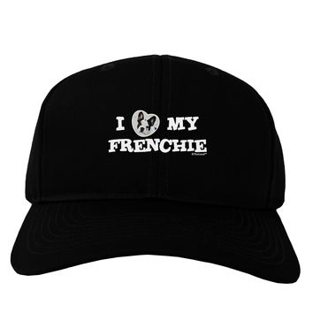 I Heart My Frenchie Adult Dark Baseball Cap Hat by TooLoud