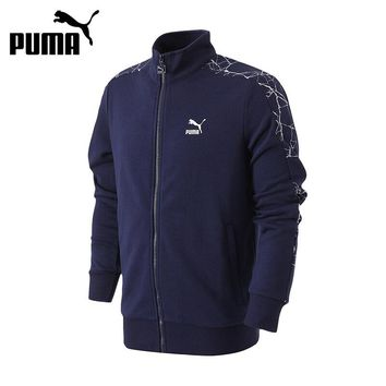 Original New Arrival 2017 PUMA Archive Graphic AOP T7 Track Jkt TR Men's jacket Sportswear