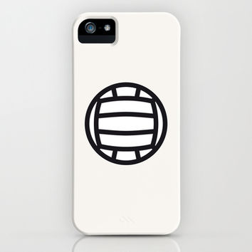 Volleyball - Balls Serie iPhone & iPod Case by Brigada Creativa