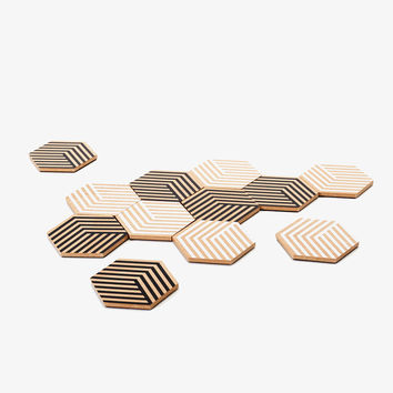 Table Tiles Coaster/Trivet Set