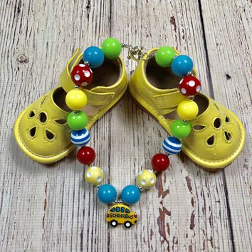 RTS Yellow School Bus Necklace