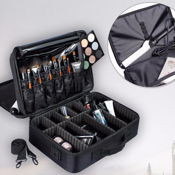 Professional Makeup Organizer Case