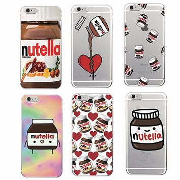 Cute Italian Pizza Food Soft TPU Phone Case Cover Skin Coque Funda For iPhone 6 6Plus 6S 7 7Plus 5 5S SE 8 8Plus X Samsung