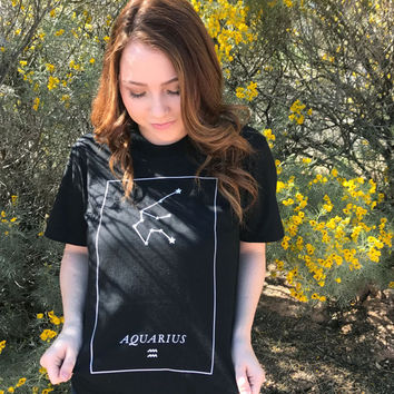 Zodiac Tee (available for every sign!)
