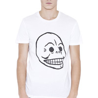 Bruce Skull Tee | t-shirts | Cheapmonday.com