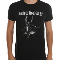 Bathory Goat Head T-Shirt