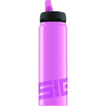 Sigg Active Top Water Bottle - Pink - 25 oz/.75 liter