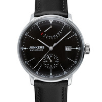 Junkers Bauhaus 6060-2 Automatic Watch Black