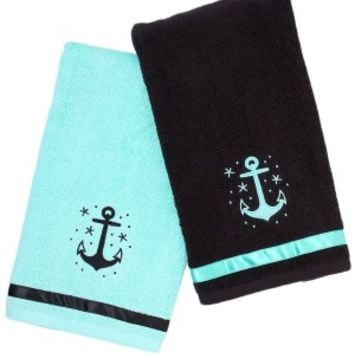 Anchor Bathroom Towel Set