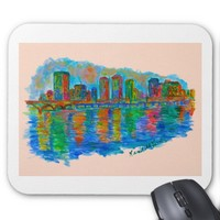 Richmond Ripples Mouse Pad