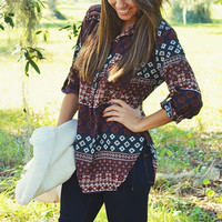 She's A Southern Belle Top: Multi