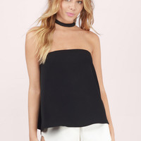 Casablanca Strapless Top