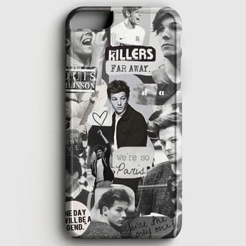 Louis Tomlinson Collage iPhone 6 Plus/6S Plus Case | casescraft