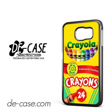 Crayola Crayons Colorful DEAL-2841 Samsung Phonecase Cover For Samsung Galaxy S6 / S6 Edge / S6 Edge Plus