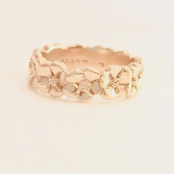 Cherry Blossom Flower Ring