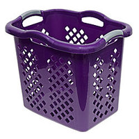 Home Logic 2.0 Bushel Hamper - Purple - Home - Furniture - Bathroom Furniture - Laundry Hampers & Bags