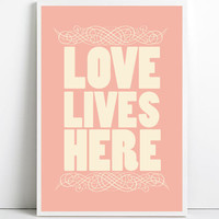 Inspirational quotes, A3, quote prints, quote posters, happy art, typography poster, happy art, positive quotes, Love Poster, Love Art Print
