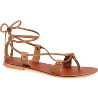 Topshop 'Heidi' Lace-Up Sandal (Women) | Nordstrom