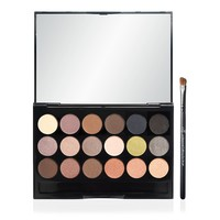 18 Piece Eyeshadow Palette with Brush