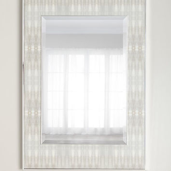John-Richard Collection Dune Textile 3 Mirror | Neiman Marcus