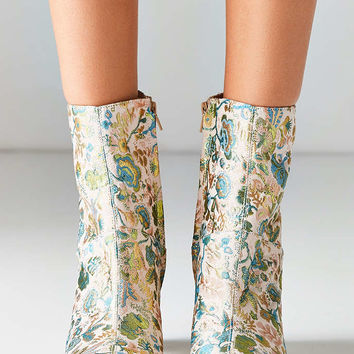 Danielle Jacquard Heeled Boot - Urban Outfitters