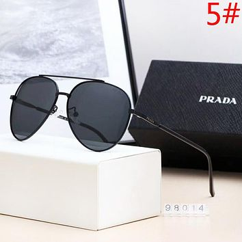 PRADA Women Fashion New Polarized Sunscreen Leisure Travel Eyeglasses Glasses