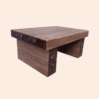 Rustic Forge Large Coffee Table