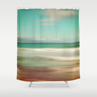 Ocean Dream IV Shower Curtain by Pia Schneider [atelier COLOUR-VISION]