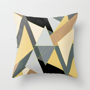 Metro Magic Throw Pillow by JR