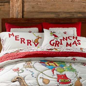 Merry Grinchmas™ Pillow Case
