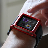 LunaTik Multi-Touch Watch Kit - iPod nano 6g - Red