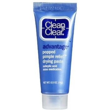 Clean & Clear Advantage Popped Pimple Relief Drying Paste .05 oz (14 g)