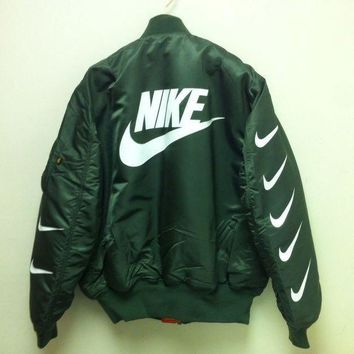 onetow One-nice? Nike x Alpha Industries MA-1 Trending Bomber Jacket