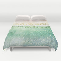 The Journey Duvet Cover by Jenndalyn | Society6