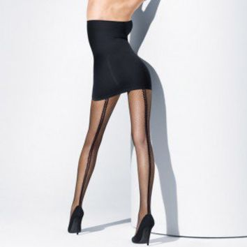 Buy Wolford Luxury Lingerie - Wolford Estelle tights  | Journelle Fine Lingerie