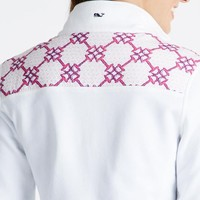 Horsebit Lattice Shep Shirt