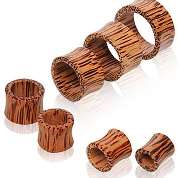 Coconut Wood Tunnel Plug