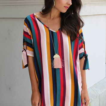 Between the Lines Blouse