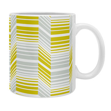 Heather Dutton Delineate Citron Coffee Mug