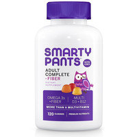 SmartyPants Gummy Vitamins Adult Complete and Fiber Vitamins, 120 Count