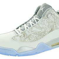 Nike Air Jordan Dub Zero Laser Men's Basketball Shoes air jordans in white