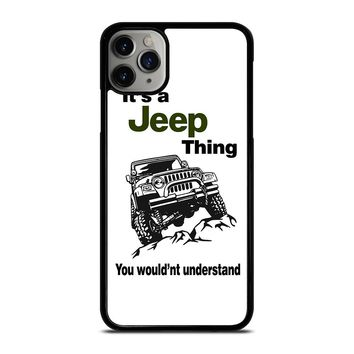 IT'S A JEEP THING iPhone Case Cover