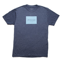 MS201 LOGO BLOCK TEE - Vintage Navy